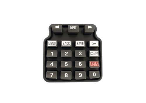 数字硅胶按键