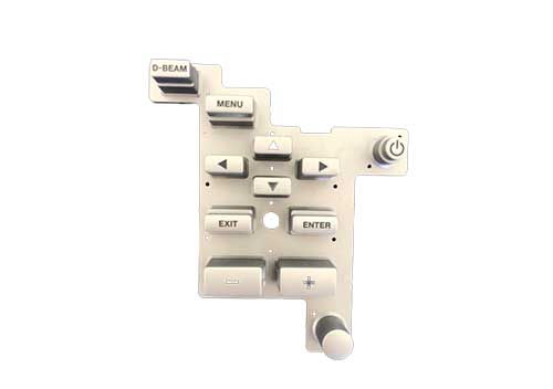 常熟遥控硅胶按键